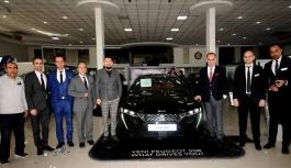 Yeni Peugeot 508 tanıtıldı