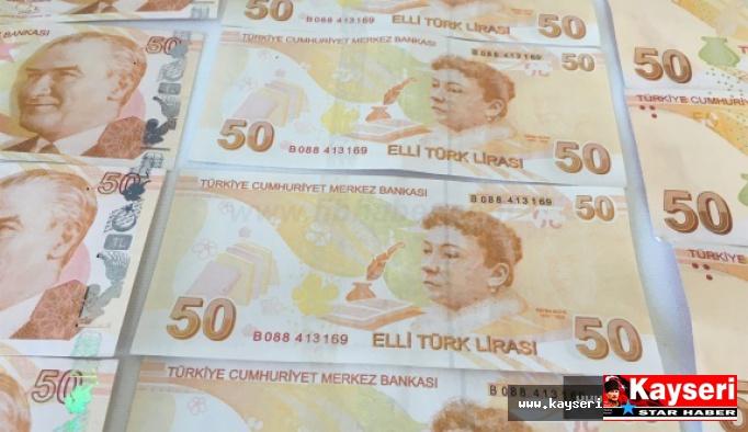 5 Kişi Sahte Para İle Yakalandı