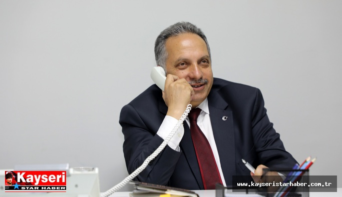 """""""Alo! Ben Başkan Mustafa Yalçın"""""""