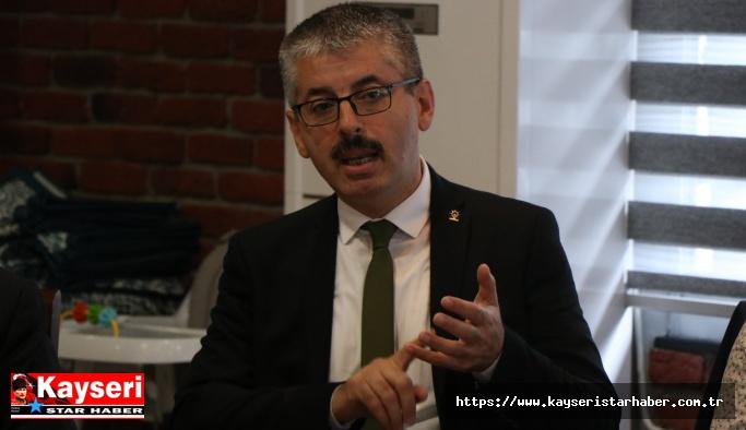 Çopuroğlu:  Kayseri'nin öncelikli ihtiyacı YHT