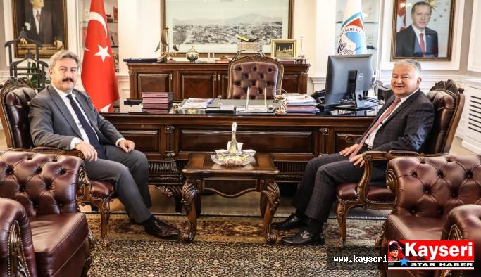Duru'dan Palancıoğlu'na Ziyaret