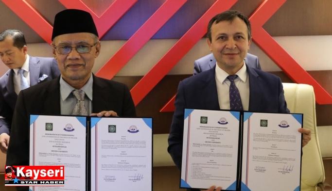 ERÜ ile Muhammadiyah Teşkilatı işbirliği yapacak