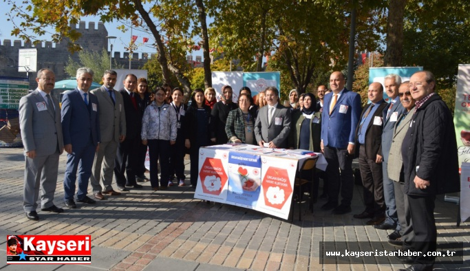 Kayseri'de 540 hasta organ nakli bekliyor