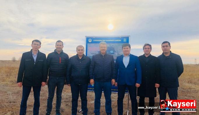 Kazakistan'dan Kayseri Şeker'e davet
