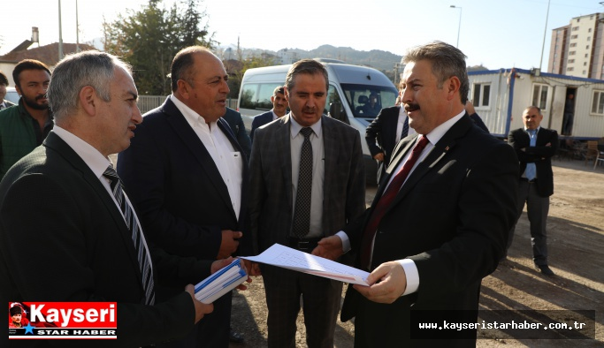 Palancıoğlu Kentsel Dönüşüm çalışmalarını inceledi