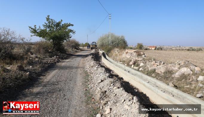 Sulama kanalı ile yerel tarıma destek