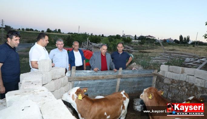 Talas'tan Çiftçiye Eğitim Desteği