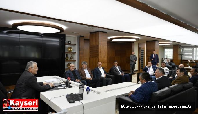 Ziraat oda başkanları büyükşehir'de