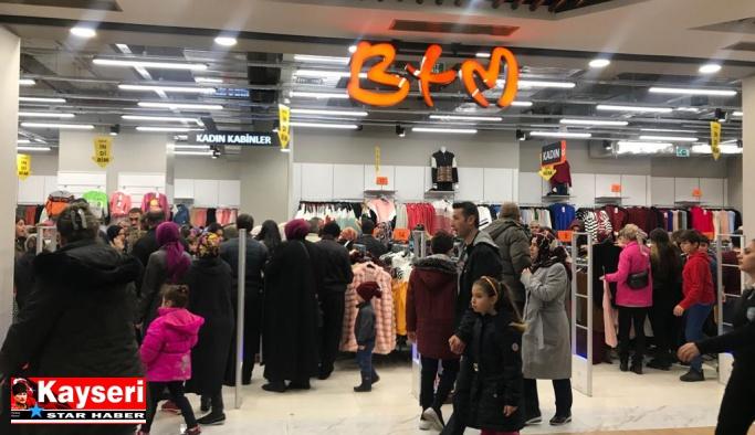 BTM, KAYSERmall Outlet'deki yeni mağazasının kapılarını açtı