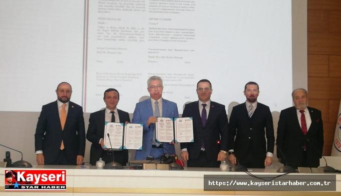 ERÜ ile Rusya arasında ön protokol imzaladı