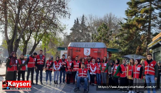 """Kayseri Genç Kızılay'dan """"empati parkı"""""""