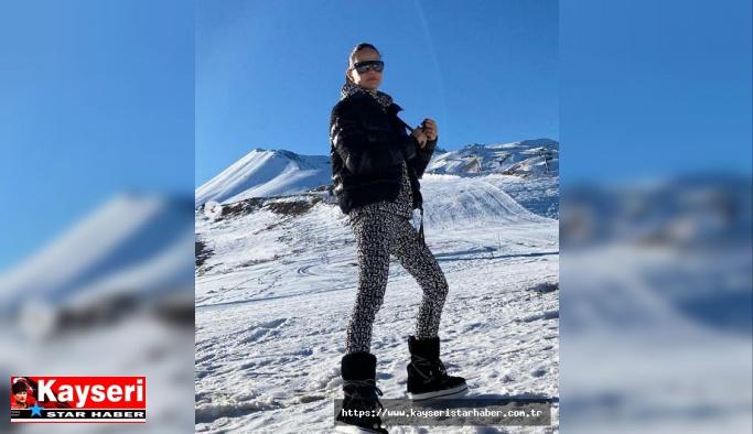 Kayseri'nin gelini Erciyes'ten vazgeçemiyor
