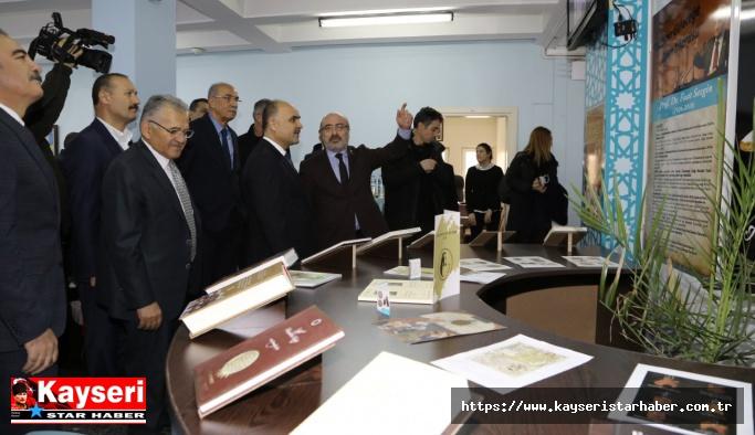 """""""Prof. Dr. Fuat Sezgin Anı Köşesi"""" açıldı"""