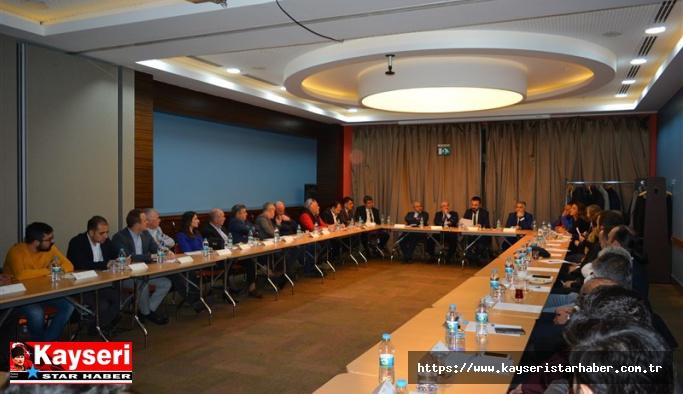 'Sürdürülebilir Turizm' için toplantı yapıldı