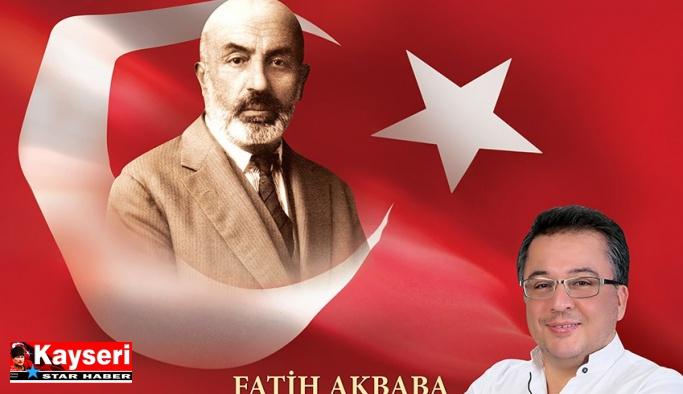 Talas'ta Mehmet Akif Ersoy programı