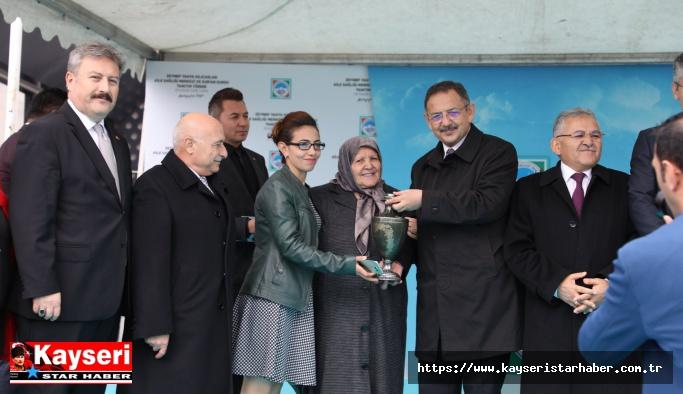 Toki Zeynep-Yahya Kılıçaslan sosyal tesisleri açıldı