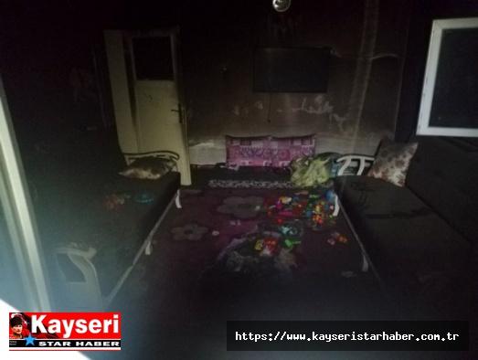 Yahyalı'da yangın: 2 kardeş öldü