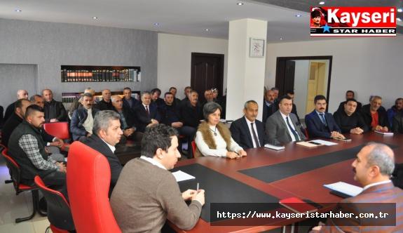Bünyan'da Muhtarlar Toplantısı