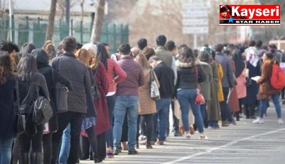 İşsizlik oranı %13,4