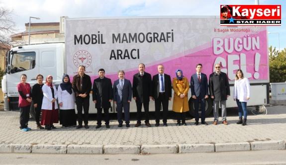 Tomarza'da 120 kadına kanser taraması