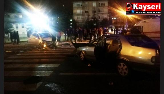 Trafik kazası:4 yaralı