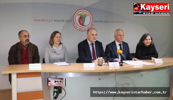"""TTB'den """"Türkiye'nin Sağlığı-2019"""" Raporu Açıklandı"""