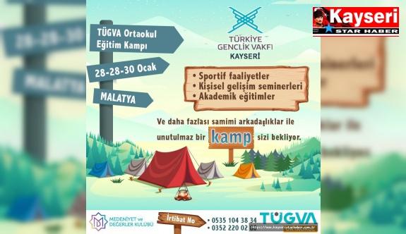 TÜGVA kampı