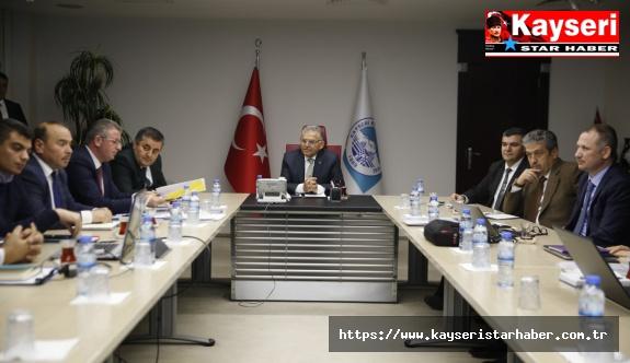 Ulaşım Koordinasyon Toplantısı Yapıldı