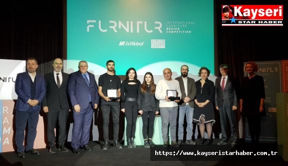 Uluslararası mobilyası tasarım yarışmasında ödül heyecanı!