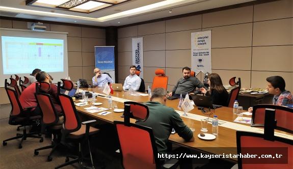 Avrupa İşletmeler Ağı Konsorsiyumu Erciyes'te toplandı