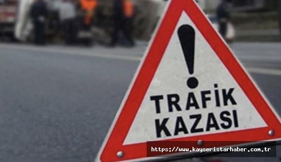 Başakpınar'da kaza: 2 ölü 2 yaralı