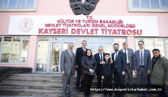 Devlet tiyatrosu Kayseri'de