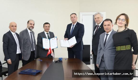 ERÜ-Nicolae Testemitanu State University of Medicine and Pharmacy  işbirliği