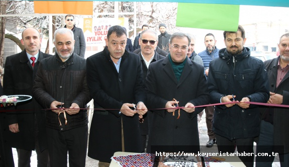 Hacılar'da iyilik kampanyasına destek