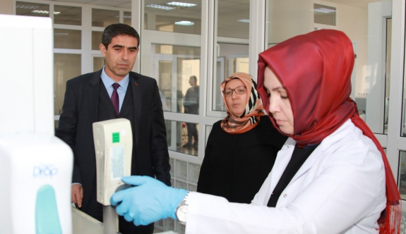 KASKİ'nin laboratuvarları dünya standartlarında
