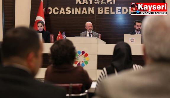KOCASİNAN MECLİSİ, HUZUR HAKKINI DEPREMZEDELERE BAĞIŞLADI