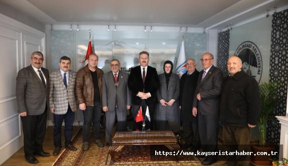 Muhtarlardan Palancıoğlu'na ziyaret