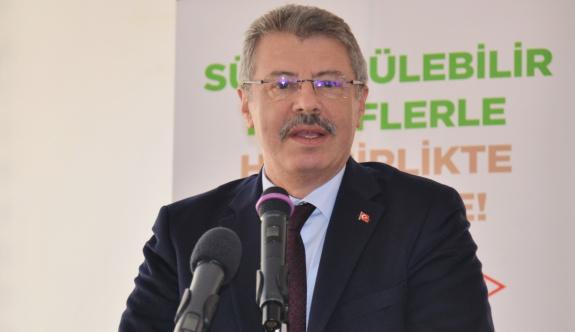 'Türkiye'nin ilk sürdürülebilir tarım birimini Kayseri şeker kurdu'