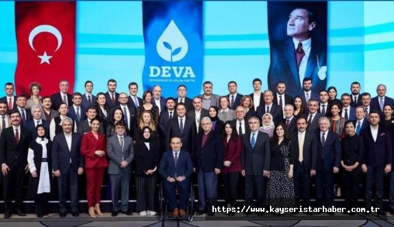 Ali Babacan'ın kurduğu DEVA'da A takım belli oldu