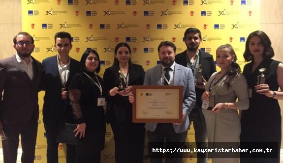 İletişim Fakültesi, Genç İletişimciler Yarışması'nda 5 Ödül kazandı
