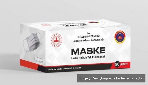 Jandarma Dikimevi Maske Üretimine Başladı!