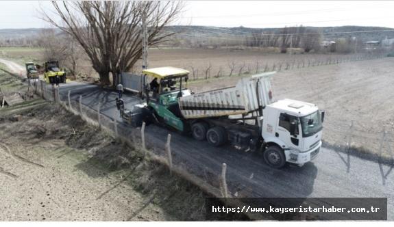 Melikgazi'den asfalt atağı