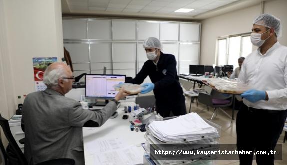 Talas'ta heryer dezenfekte ediliyor