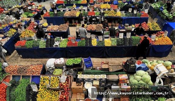 342 pazar esnafı ve müşteriye 'kurallara uymama' işlemi