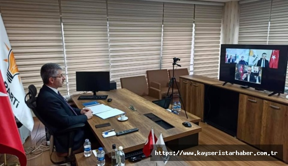 AK Parti İl Başkanı Çopuroğlu, oda başkanlarını dinledi