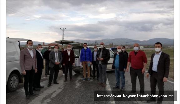 AK Parti'den Akmescitlilere destek