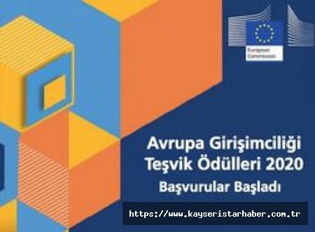 Avrupa Girişimciliği Teşvik Ödülleri 2020 Başvuruları başladı