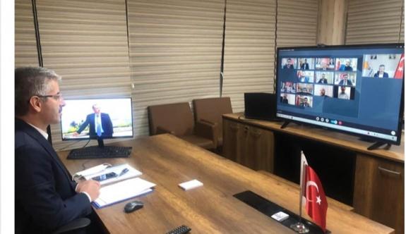 Başkan Çopuroğlu, istişare toplantısına katıldı