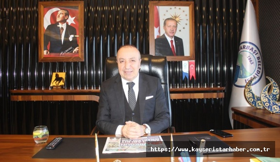 """Başkan Uzunluoğlu Pınarbaşılılara seslendi  Yeter ki evde kalın, """"24 saat hizmetinizdeyiz!"""""""