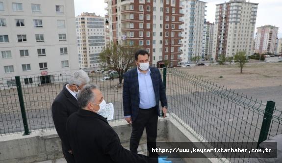 Başkan Yalçın'dan yeni park alanlarına inceleme